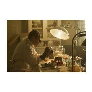 Charles on his laboratory
