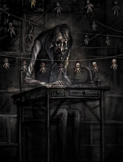Dollmaker desk