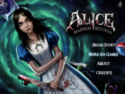 Alice Madness Returns Storybook