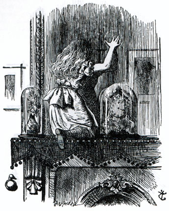 File:Alice entering the Looking-Glass World.jpg