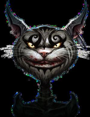 Cheshire Cat Storybook render