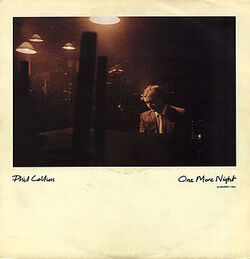 Phil Collins One More Night cover