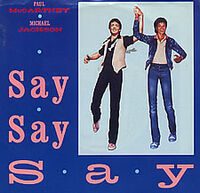 Say Say Say cover