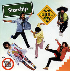 Starship We Built This City cover