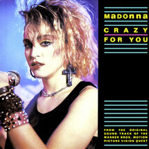Madonna Crazy For You cover