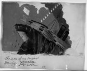 The Sinking of the Lusitania (Winsor McCay, signed cel)