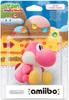 Packaging pink yarn yoshi
