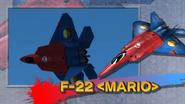 F-22 Mario