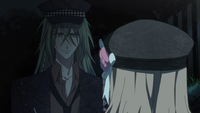 The Heroine meet Ukyo again at night