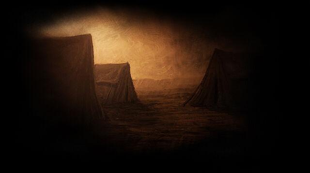 File:Tents in the Desert.jpg