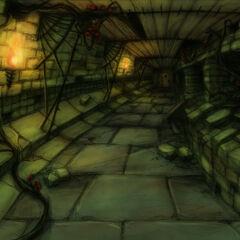 Arte conceptual del corredor.