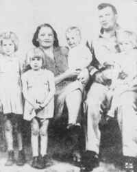 Carl Dalrymple and family