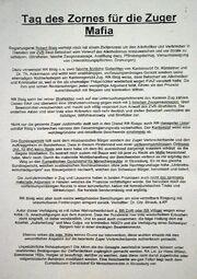 Friedrich Leibacher's letter