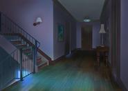 Casa do Nathaniel e Ambre Corredor Noite