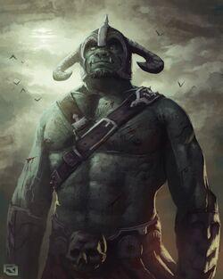 Orc man