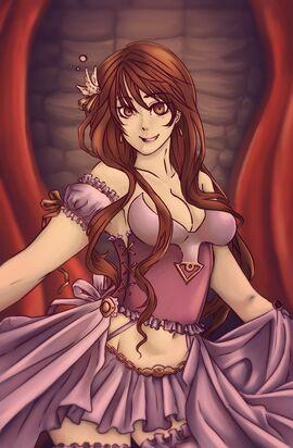 Isabella dancing