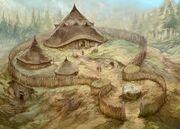 Ancient dwarf settlement