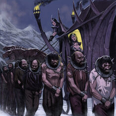 Humans enslaved by eleves