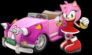 1. Amy and Pink Cabriolet