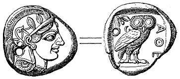 Файл:Tetradrachma fran Aten (omkr 490 fKr, ur Nordisk familjebok).png