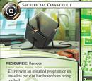 Sacrificial Construct