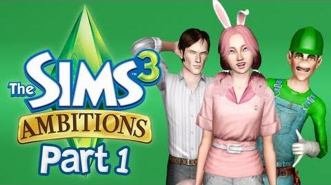 Let's Play The Sims 3 Ambitions - Part 1