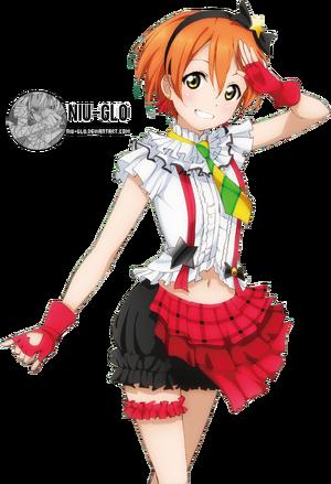Rin hoshizora love live render by niu gl0-d6ywvom
