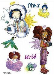 Comic Miki & Urié