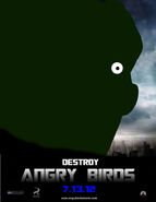 Angry birds 2012 movie poster 5