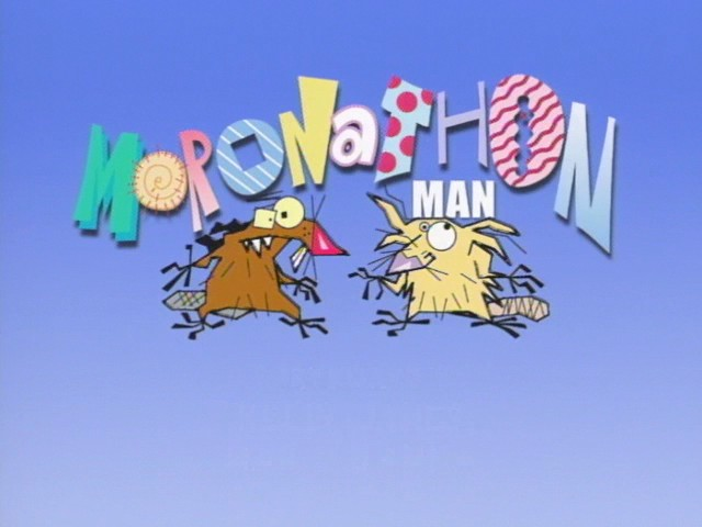File:Moronathon Man title card.jpg