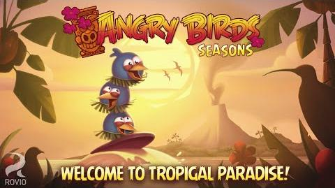 Out Now! Angry Birds Seasons – Tropigal Paradise