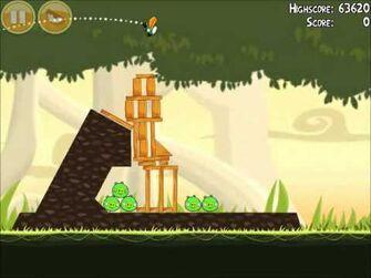 Official Angry Birds Walkthrough Danger Above 6-5