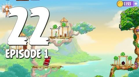 Angry Birds Stella Level 22 Walkthrough Branch Out Episode 1