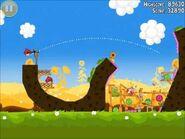 Official Angry Birds Seasons Walkthrough Summer Pignic 1-21