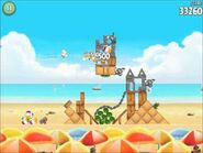 Official Angry Birds Rio Walkthrough Beach Volley 5-1