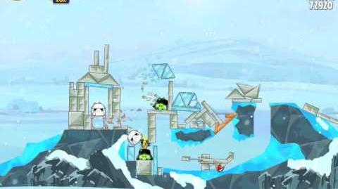 Angry Birds Star Wars 3-9 Hoth 3-Star Walkthrough