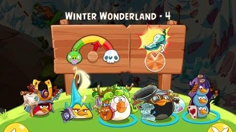 Angry Birds Epic Winter Wonderland Level 4 Walkthrough