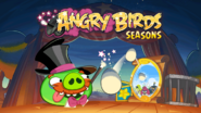 Angry Birds Seasons Loading Screen Abra-ca-bacon