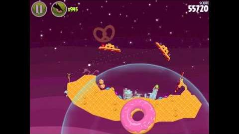 Angry Birds Space Utopia 4-29 Walkthrough 3-Star
