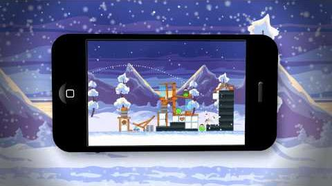 Angry Birds Seasons Wreck The Halls Gameplay Trailer