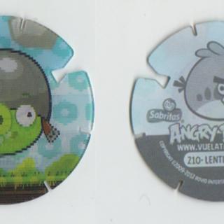 Tazos de Angry Birds