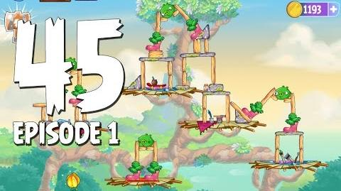 Angry Birds Stella Level 45 Walkthrough Branch Out Episode 1