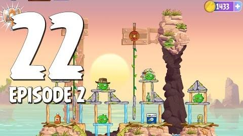 Angry Birds Stella Level 22 Episode 2 Beach Day Walkthrough