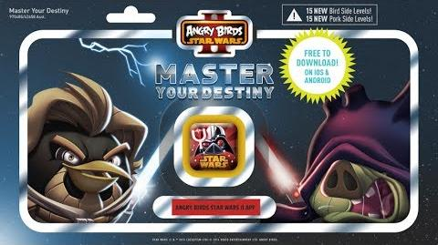 NEW! Angry Birds Star Wars 2 Master Your Destiny gameplay trailer