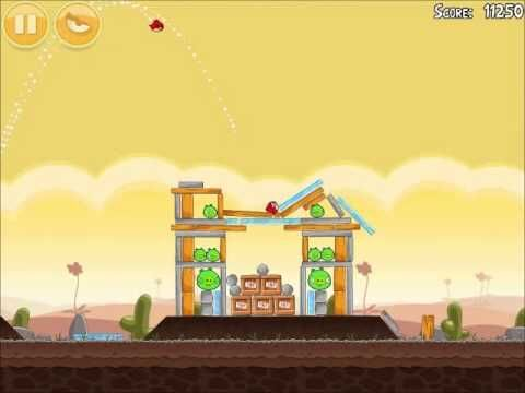 Official Angry Birds Walkthrough Poached Eggs 3-5