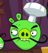 Chef Pig In Bad Piggies