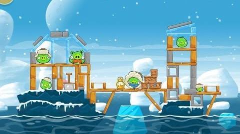 Angry Birds Seasons Arctic Eggspedition 1-14 Walkthrough 3 Star