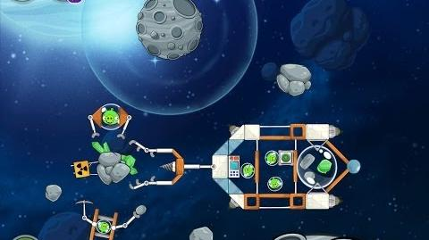Angry Birds Space Beak Impact 8-26 Walkthrough 3 Star