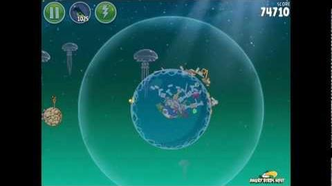 Angry Birds Space Pig Dipper 6-25 Walkthrough 3-Star