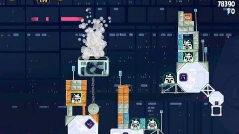 Angry Birds Star Wars 4-31 Cloud City 3 Star Walkthrough